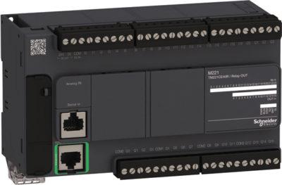 Внешний вид контроллера Modicon М221
