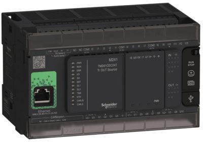 Внешний вид контроллера Modicon М241