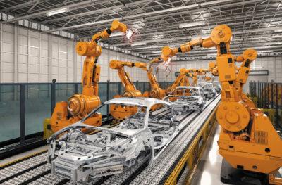 Решение Advantech для роботизированного производства автомобилей