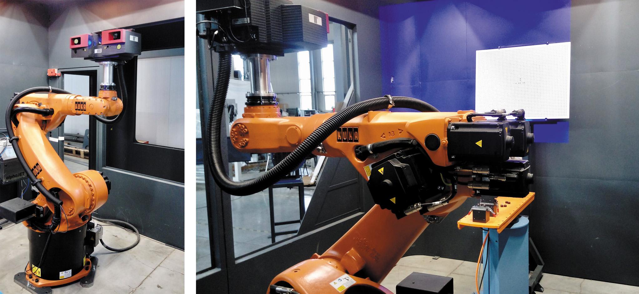 Система измерительного оборудования на базе робота-манипулятора KUKA KR60