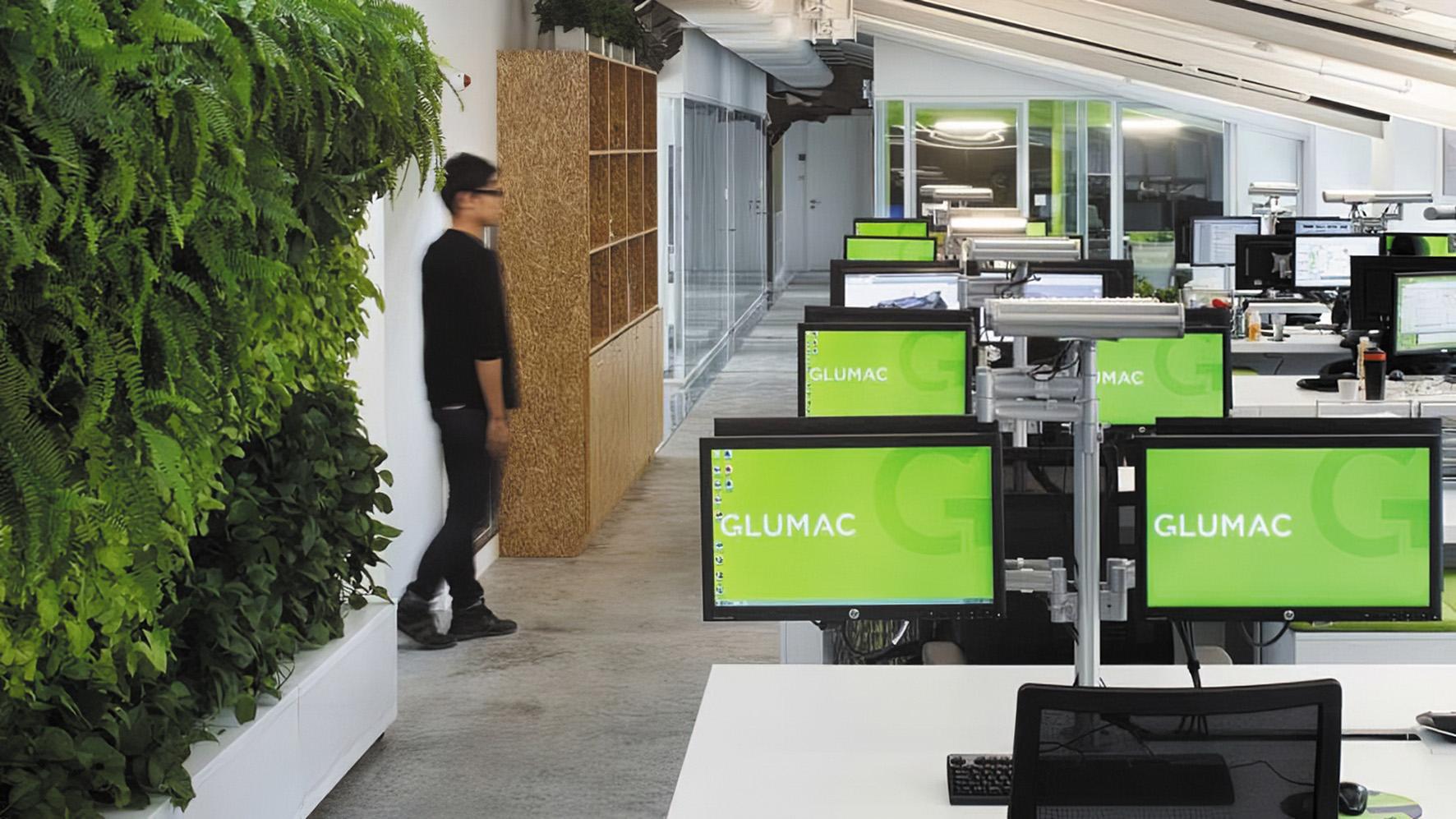 Мы любим нашу зеленую стену в офисе в Шанхае. Но пришло время выйти за рамки этих интеграций, чтобы действительно перейти к следующему этапу «здорового» проектирования зданий