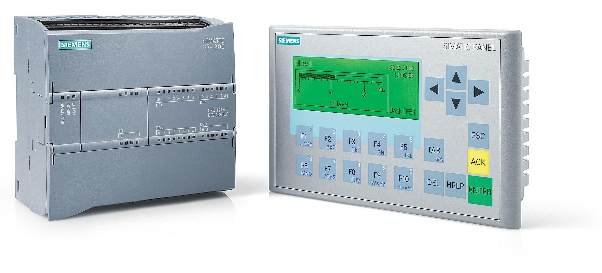 SIMATIC S7-1200 с панелью управления