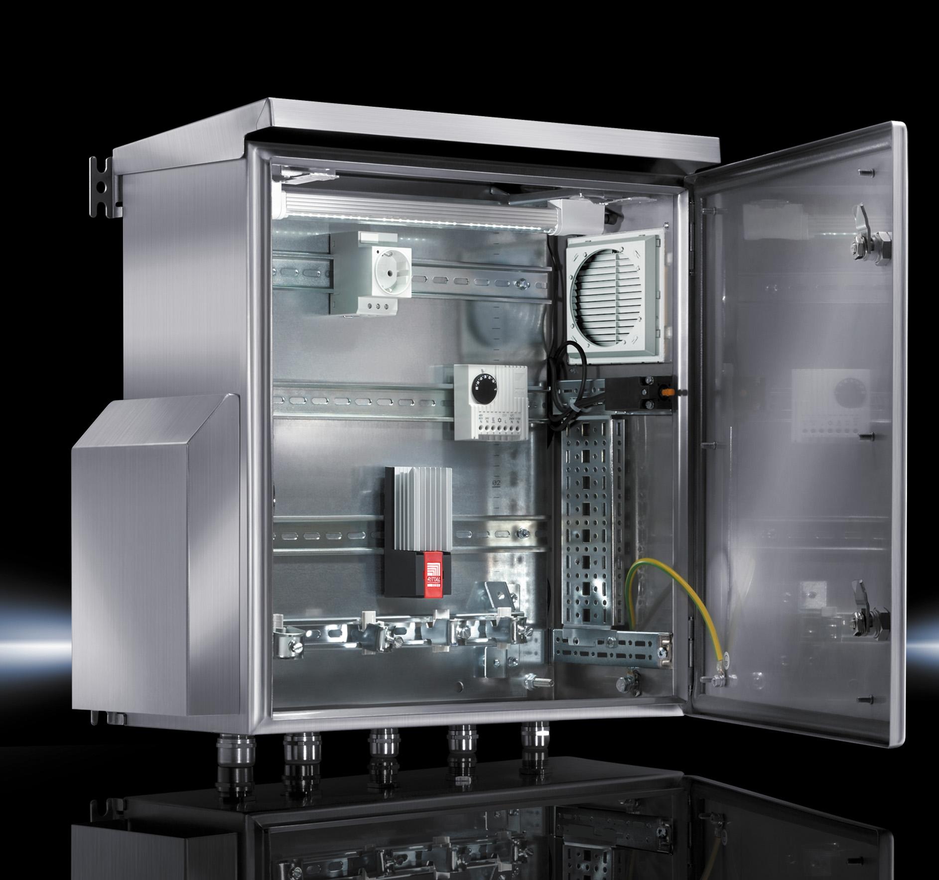 Настенный компактный распределительный шкаф AE