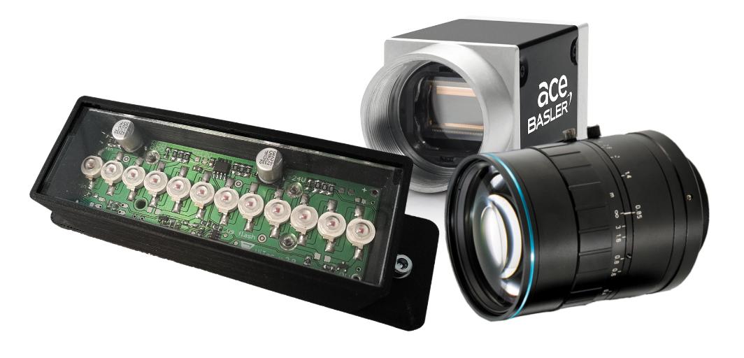 Основа системы машинного зрения — правильно подобранная камера, оптика и освещение
