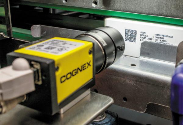 Считывание Data Matrix-кода при помощи камеры машинного зрения