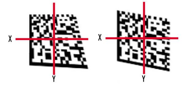 Проблема неравномерности сетки  штрих-кода
