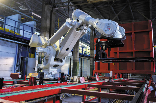 Самый крупный робот ABB–IRB 8700