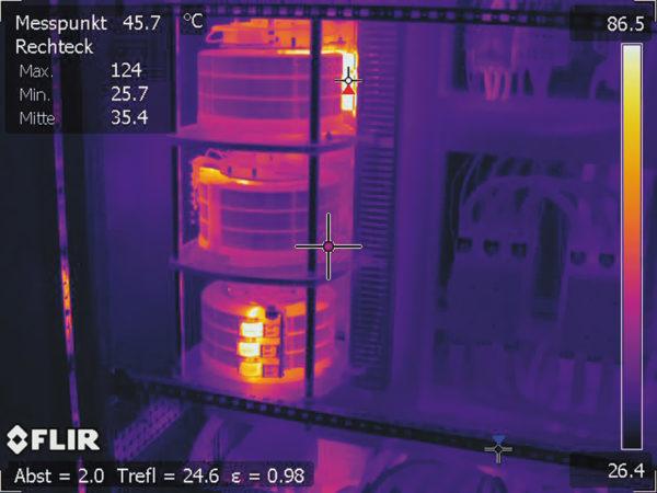 тепловизионная камера FLIR P640 с разрешением 640×480 пикселей
