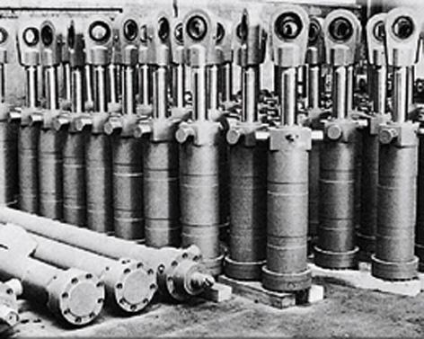 Гидравлический цилиндр Mannesmann Rexroth AG (1977 г.)