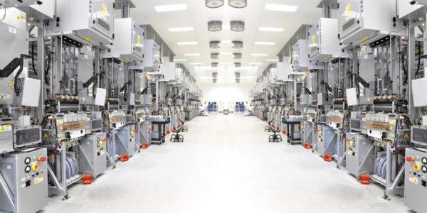 Цех для производства полупроводников