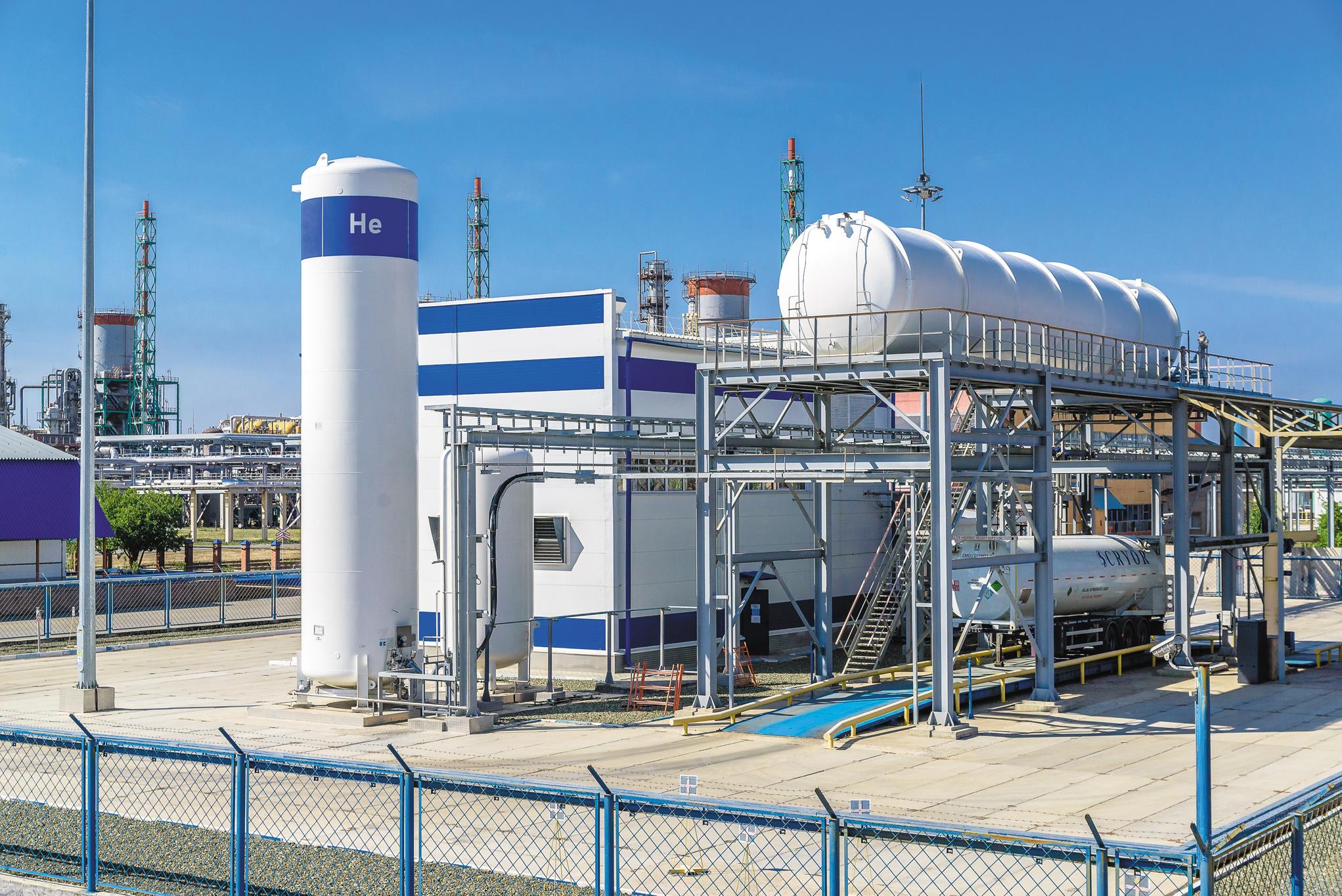 В 2014 г. на заводе была введена в эксплуатацию установка сжижения гелия №44. Сырьем для нее служит часть газообразного гелия. На данный момент это — единственная в России крупнотоннажная установка сжижения гелия. Ее производительность —500 литров в час, или 4,2 млн литров жидкого гелия в год.