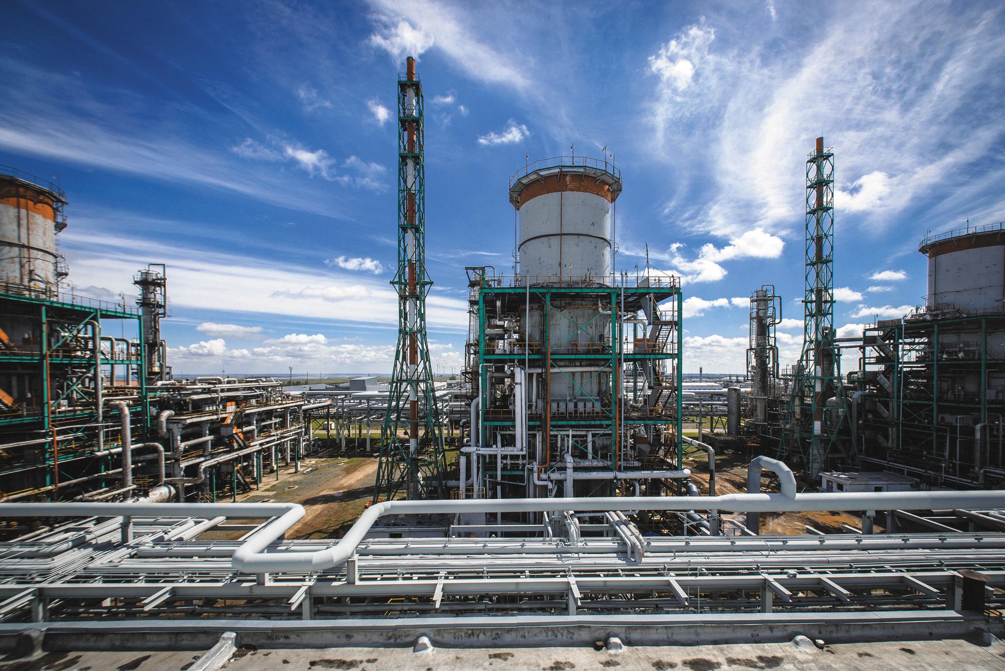 Оренбургский гелиевый завод