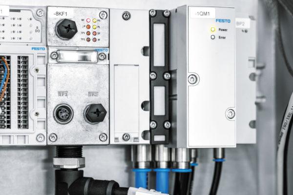Модуль энергоэффективности, помещенный в защитный шкаф ATEX