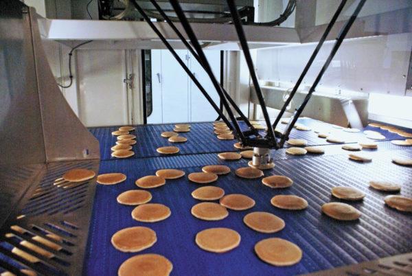 Робот-«паук» для сортировки и упаковки продукции