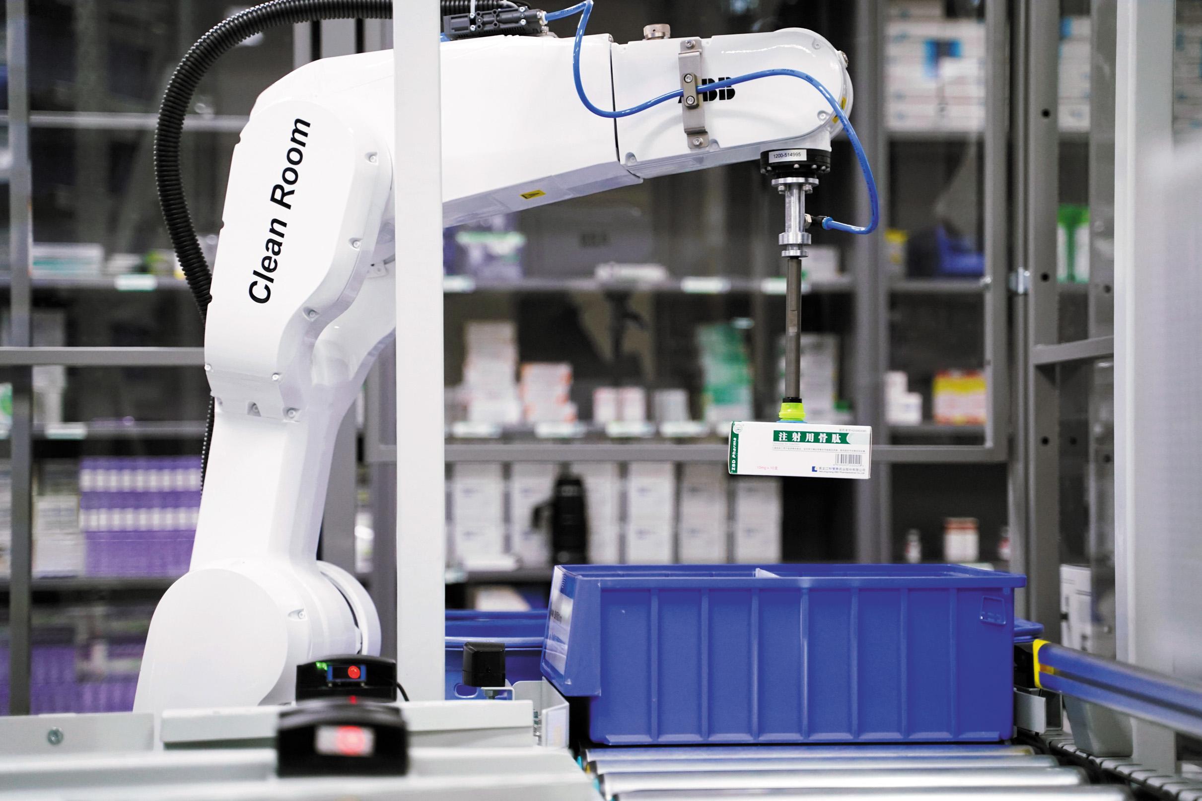 Роботы для выдачи лекарств