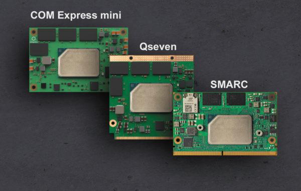 Мини-компьютеры на модулях SMARC, Qseven и COM Express