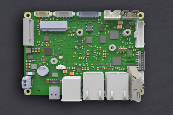 Плата Pico-ITX полностью готова к применению