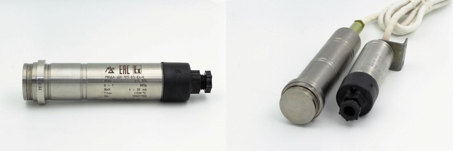 Общепромышленные датчики давления серии МИДА-12П