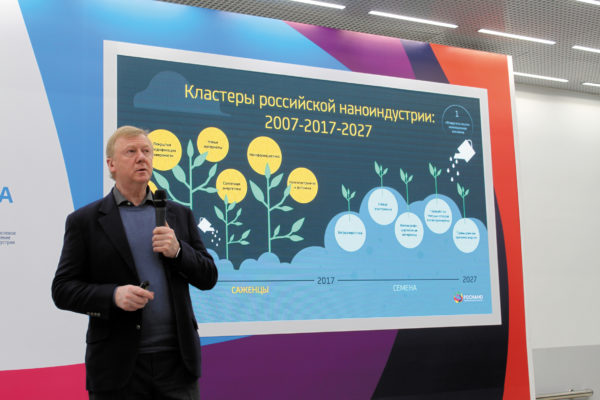 Лекция «Инновационная экономика» председатель правления УК «РОСНАНО» Анатолий Чубайс