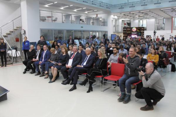 лекция «Инновационная экономика» выступил председатель правления УК «РОСНАНО» Анатолий Чубайс