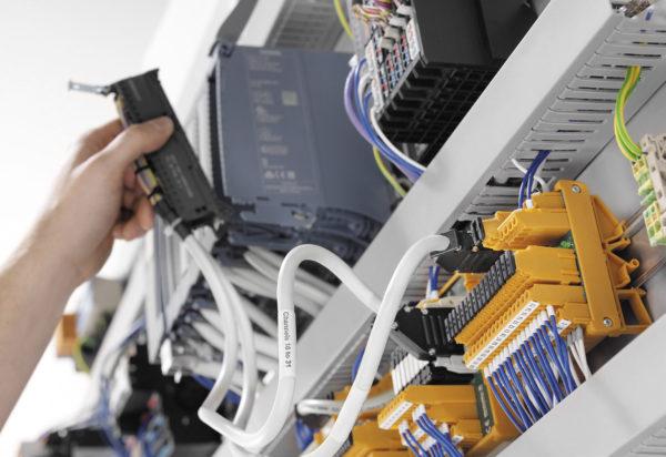 Подключение интерфейсного модуля к системе управления