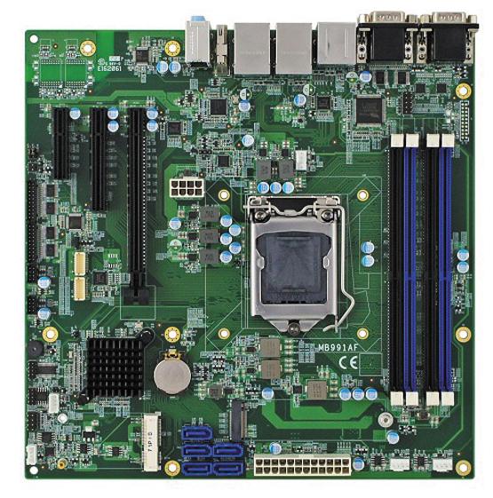 Материнская плата серии MB991 Micro-ATX компании iBASE