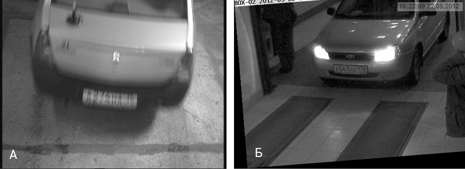 Примеры неудачных настроек видеокамеры - автомаршал