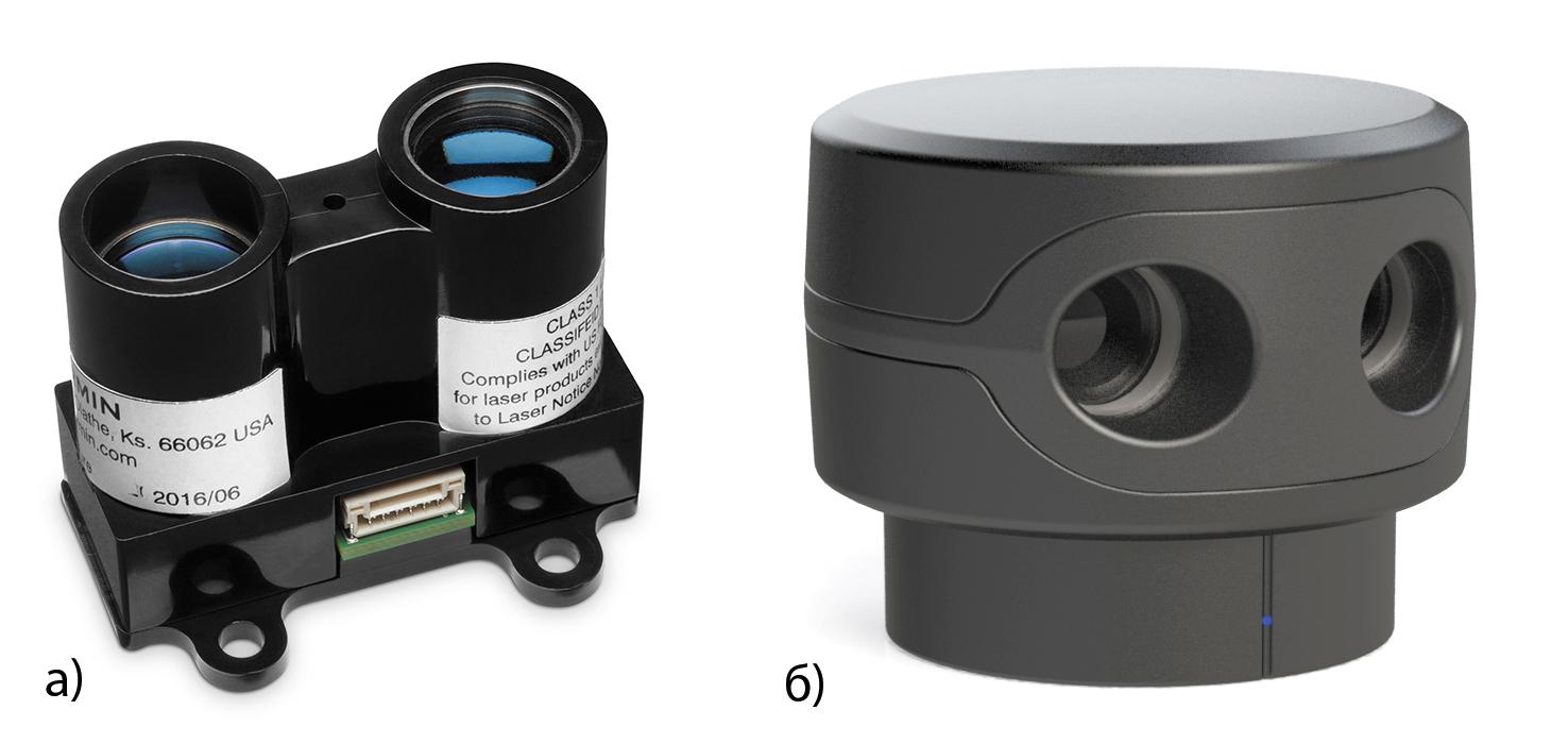 Лидар LIDAR-Lite v3 фирмы Garmin и лидар-сканер Sweep V1