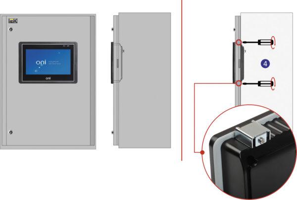 Монтажный комплект для крепления HMI-панели