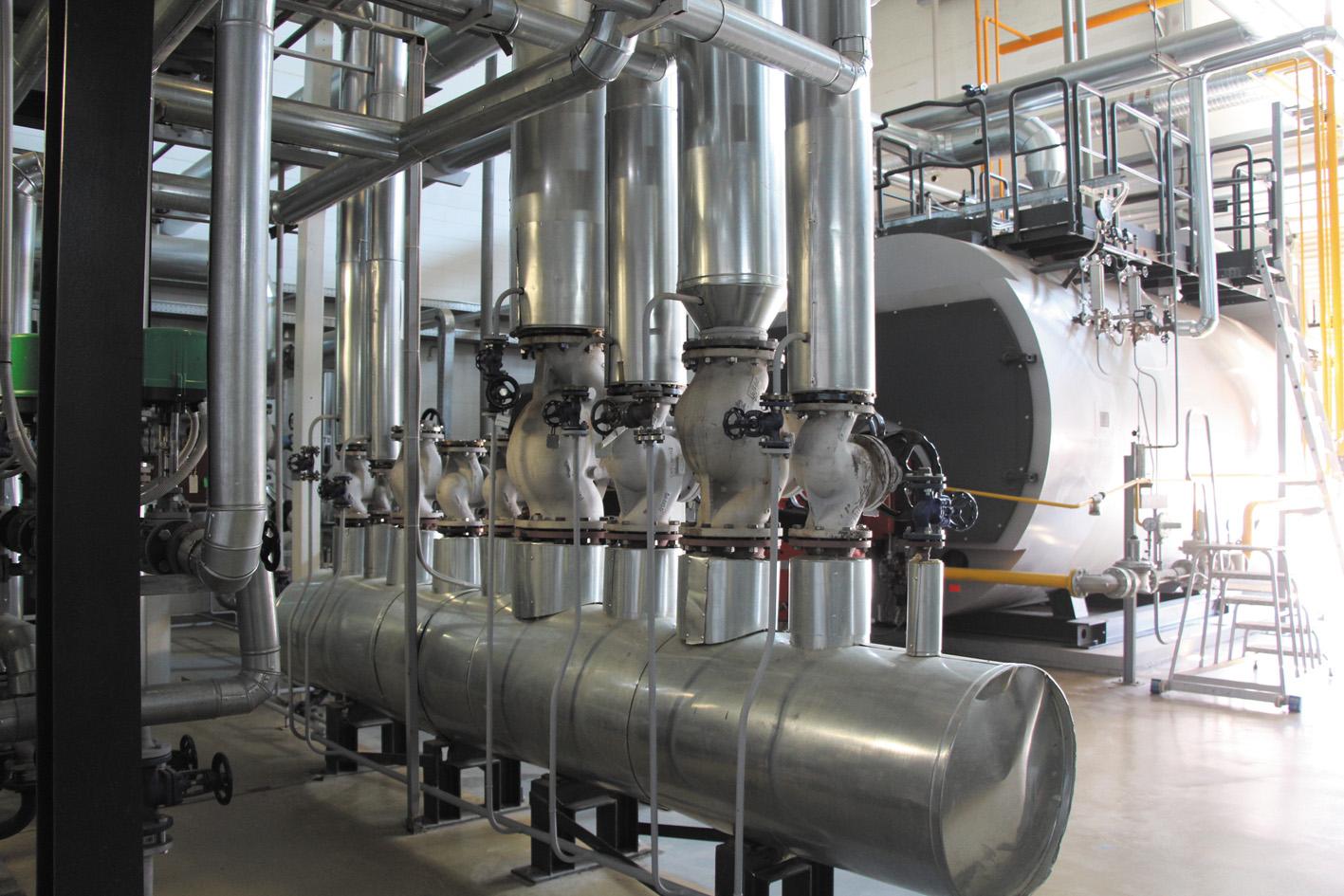 паровые котлы Viessmann, работающие на природном газе