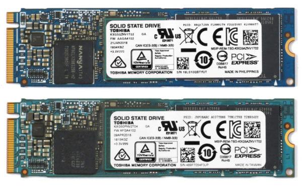 Внешний вид SSD XG5 1024GB и SSD XG5-P 2048GB