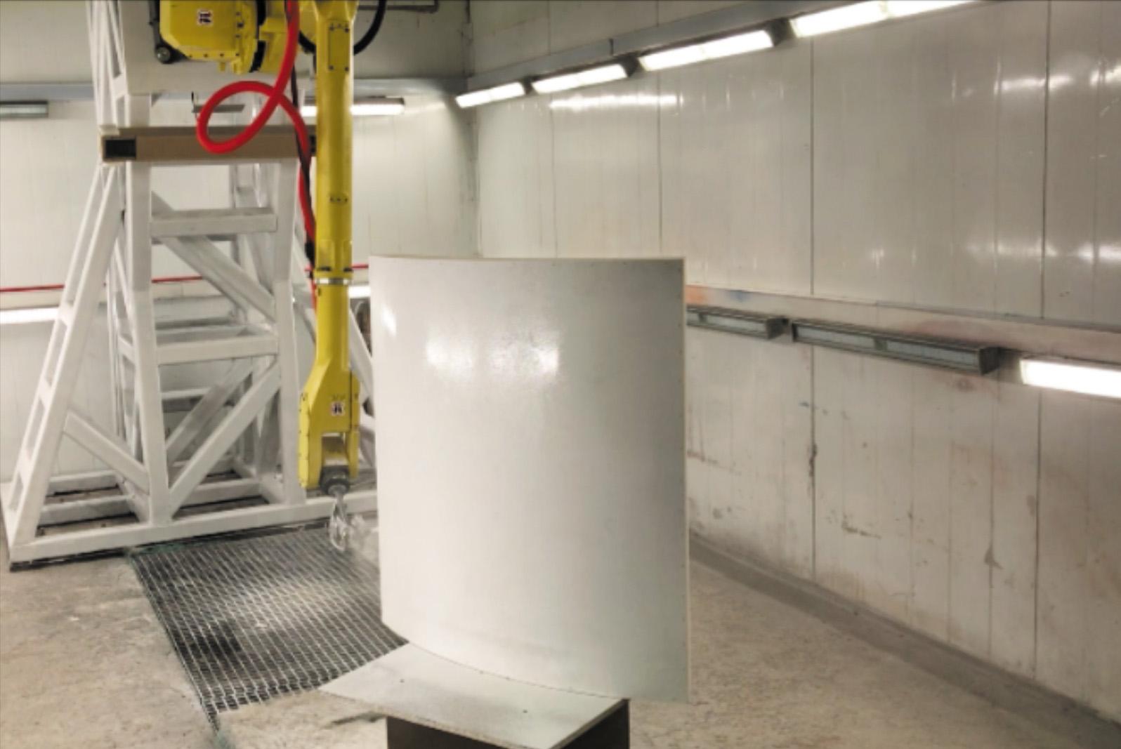 Применение ABAGY в робототехническом комплексе для покраски и нанесения поверхностей
