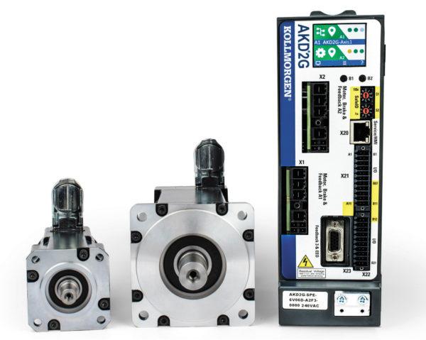 Система движения 2G. Сервоусилитель AKD2G и серводвигатели AKM2G