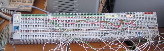 Контроллер узла сети с модулями ввода/вывода