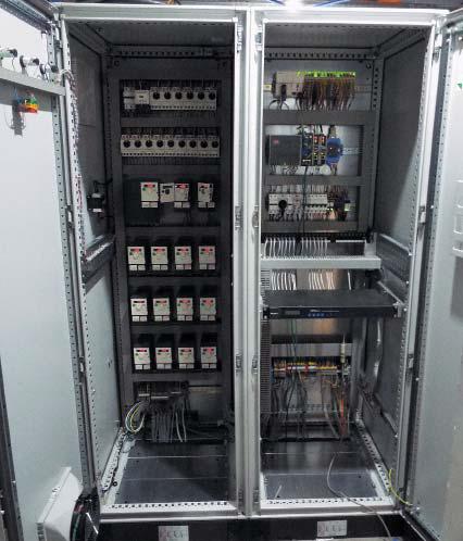 Шкаф управления сортировщиком