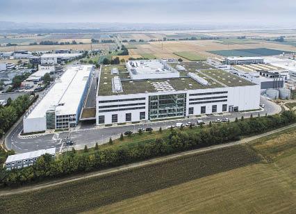 Новый завод Festo в Шарнхаузене