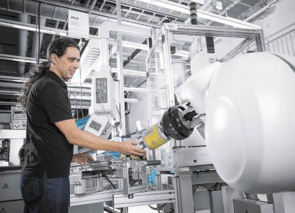 Совместная работа человека и робота