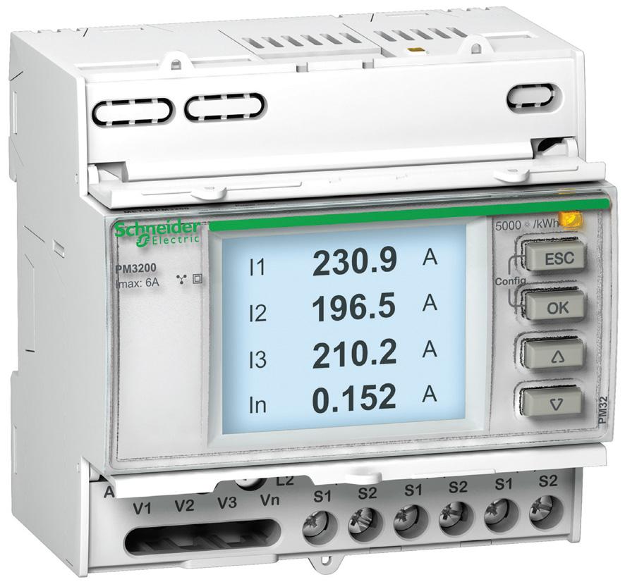 Счетчик электроэнергии PowerLogic PM3200