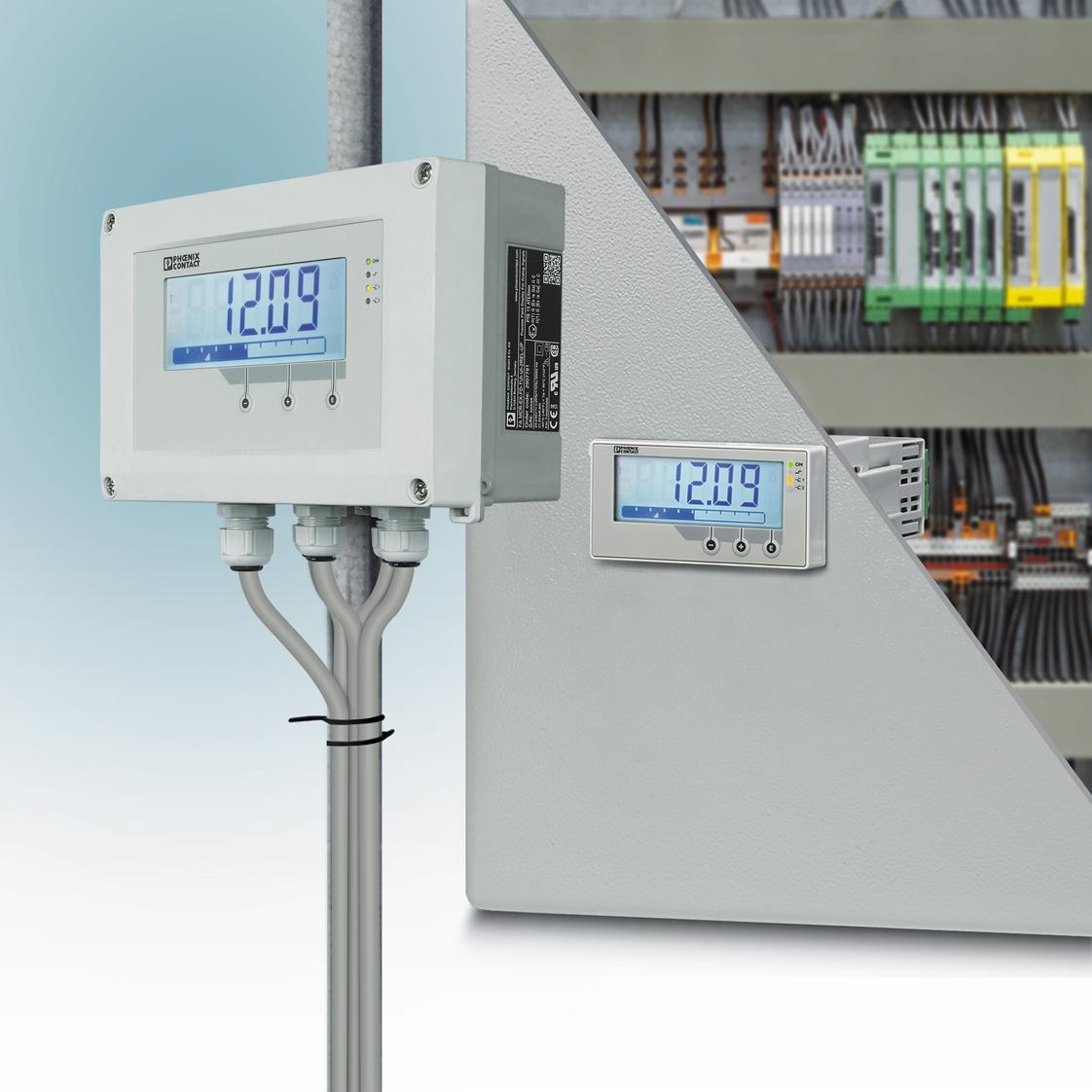Семейство Field Analog нормализаторы сигналов с устройством индикации