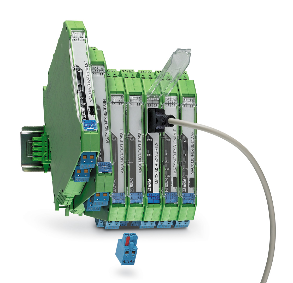 Преобразователи сигналов и барьеры искрозащиты MACX Analog с уровнем функциональной безопасности до SIL3 и максимальной взрывозащитой вида Ex [ia]