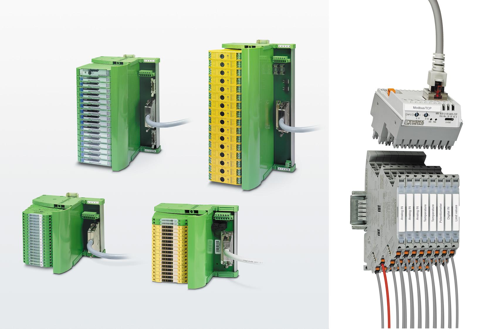 Решения по интеграции сигналов в системы управления и диспетчеризации от Phoenix Contact