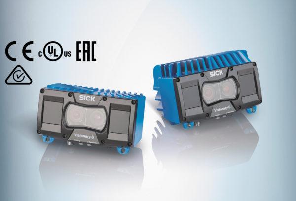 Система машинного трехмерного зрения серии Visionary-S компании SICK