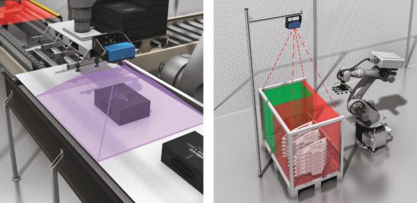 Примеры использования системы машинного зрения Visionary-S от компании SICK