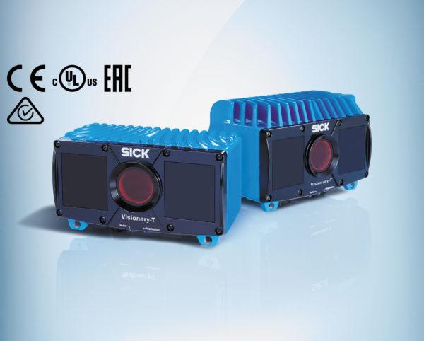 Система машинного трехмерного зрения серии Visionary-Т компании SICK
