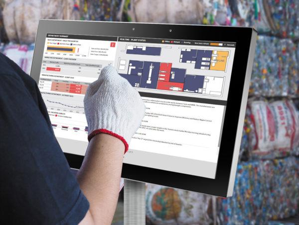 Интерактивные цифровые панели на основе UTC-520, которыми можно управлять в перчатках