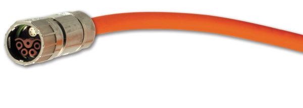 Гибридный кабель, сочетающий в себе силовой и сигнальный кабели
