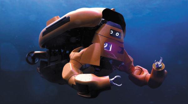 Подводный робот, предназначенный для проверки морских нефтегазовых активов без необходимости использования дорогостоящих надводных вспомогательных судов