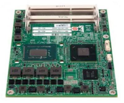 «Компьютер-на-модуле» стандарта COM-Express: RadiSys CEQM77 с процессором Intel Core i7 IvyBridge