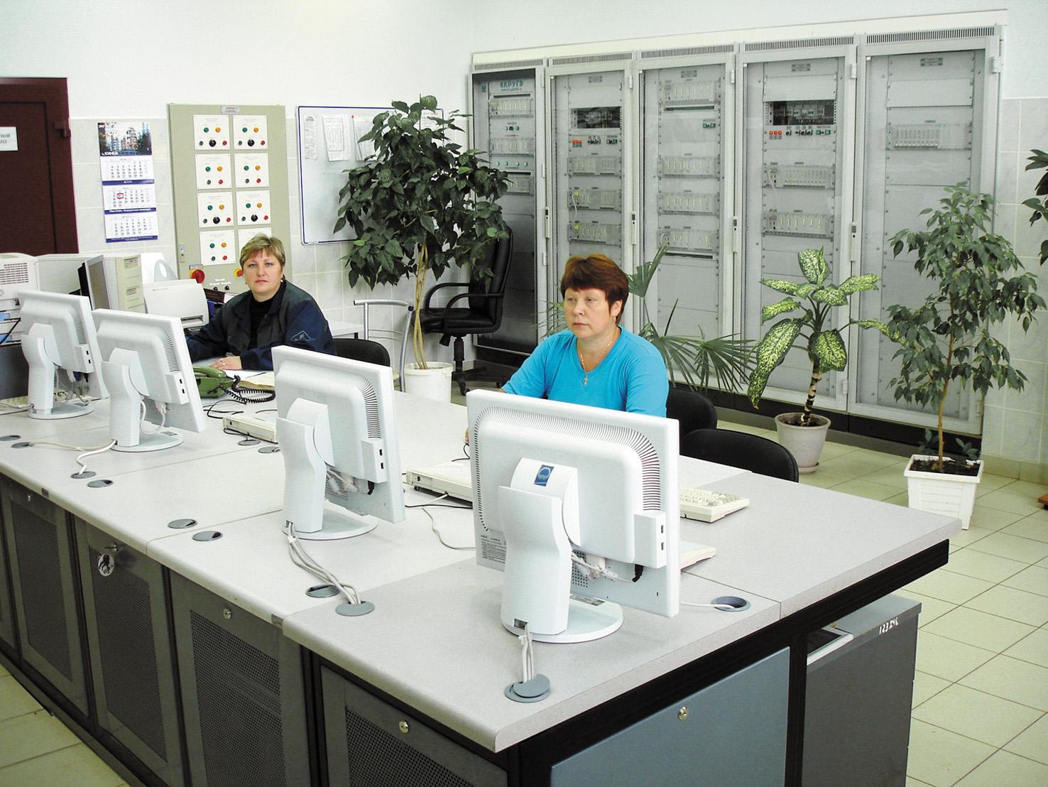 Помещение операторной ОАО «Киришинефтеоргсинтез»