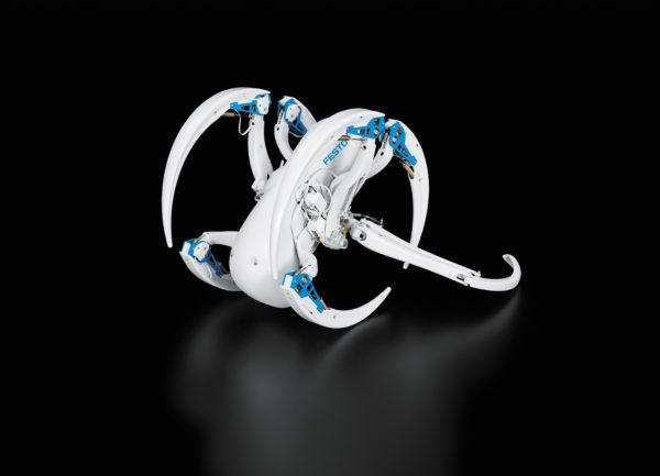 BionicWheelBot: режим кувыркания